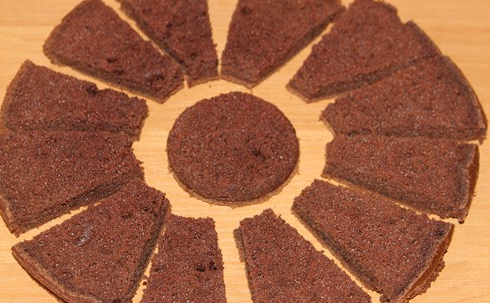 африканская ромашка - пошаговый рецепт торта с фото