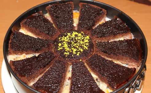 фото торт африканская ромашка